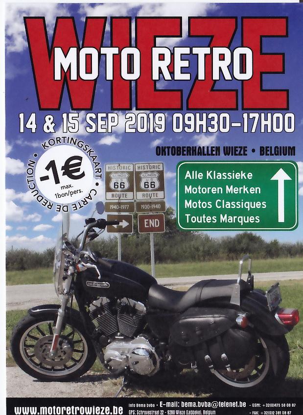 Wieze Moto Retro 2019 brengt vernieuwing