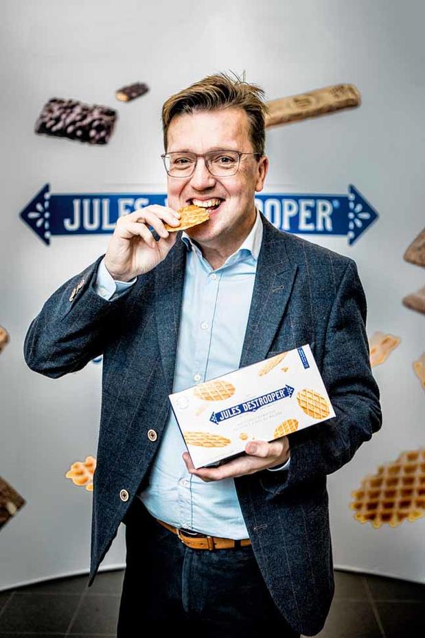 """Cure de jouvence pour la marque de biscuits Jules Destrooper: """"Notre stratégie: Focus!"""""""