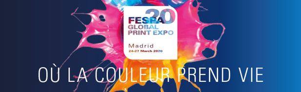 Du 24 au 27 mars, venez découvrir à la FESPA les tendances et innovations futures du secteur. Et bonne nouvelle !