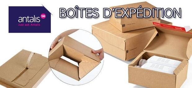 Boîte d'expédition Antalis : plus qu'une simple boîte