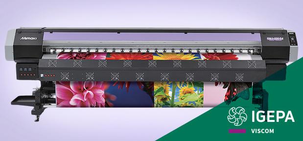 La nouvelle imprimante solvant Mimaki SWJ-320EA à présent disponible chez Igepa !