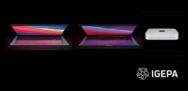 Igepa verdeelt nu ook eerste Macs met Apple silicon-chip M1