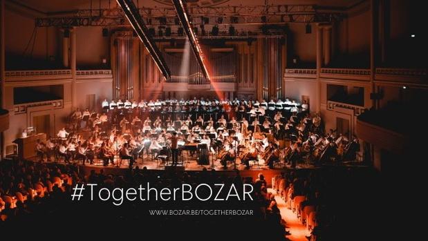 BOZAR lanceert fundraising #TogetherBOZAR