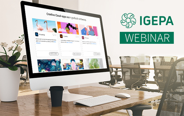 Igepa organise webinaire Adobe Creative Cloud 2021 jeudi 11/02/2021