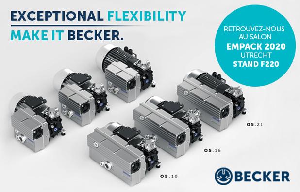 Une flexibilité exceptionnelle pour une conception de machine encore plus ergonomique