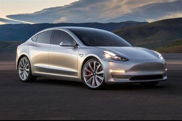 Tesla Model 3 scoort sterk in Europa