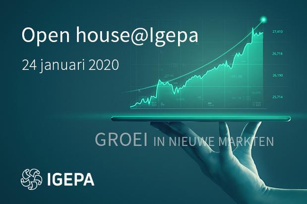 Open house@Igepa  'Groei in nieuwe markten'  24/01/2020