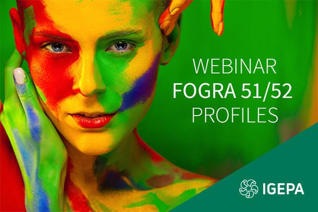 """Webinaire Igepa : mardi 22 septembre 2020 """"Tout ce que vous devez savoir pour passer aux profils Fogra 51/52"""""""