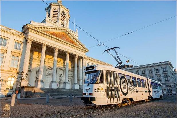 """Le """"Tram Experience"""": un voyage culinaire dans Bruxelles"""