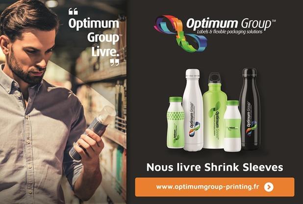 EPB Shrink Sleeves, member company Optimum Group, sommes votre partenaire idéal pour les manchons thermo-rétractables
