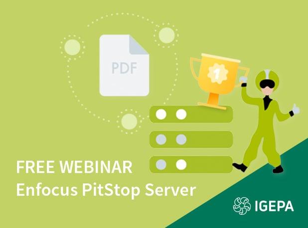 Mardi 30 juin 2020 Invitation au webinaire :  Le serveur PitStop d'Enfocus est désormais un flux de travail pour PDF !
