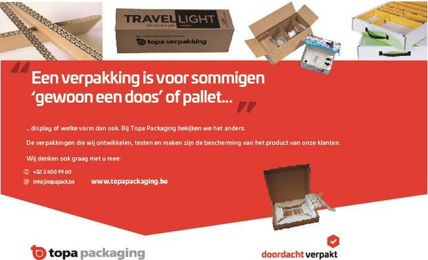 Een verpakking is voor sommigen 'gewoon een doos' of pallet...