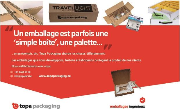 Un emballage est parfois une 'simple boîte', une palette...