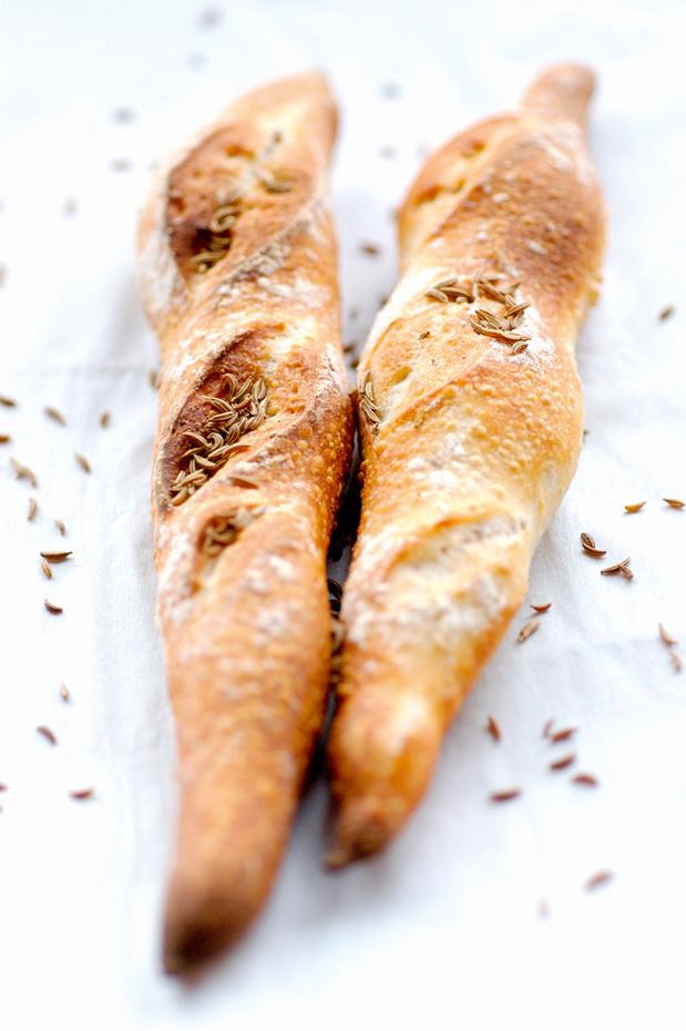 Recette de la Baguette aux graines de carvi