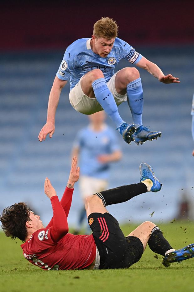 United remporte le 185e derby de Manchester (0-2) et met fin à la série de City