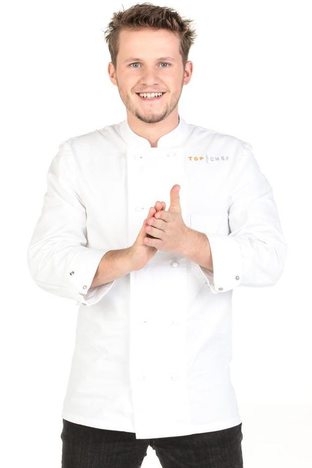 """Top Chef saison 12: Mathieu Vande Velde, candidat belge plein de fougue, """"mon seul adversaire c'est moi"""""""