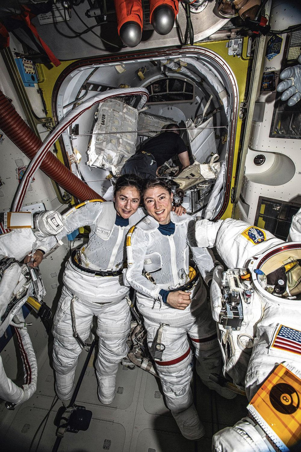 """""""Une sacrée paire d'astronautes"""""""
