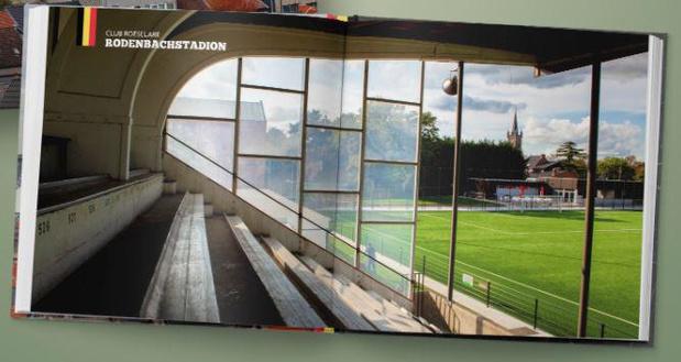 Rodenbachstadion enige West-Vlaams voetbalstadion in boek Belgian Beauties