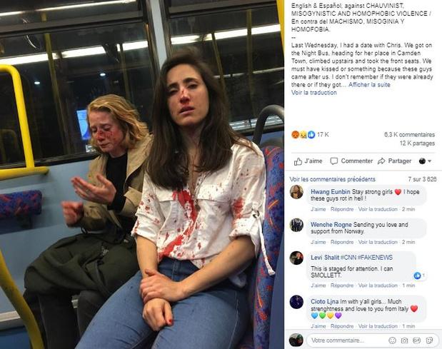 Un couple de lesbiennes agressé dans un bus à Londres par un groupe d'ados homophobes