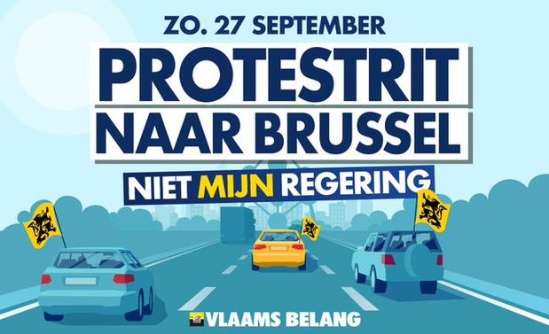 La menace du Vlaams Belang qui appelle à rouler sur Bruxelles