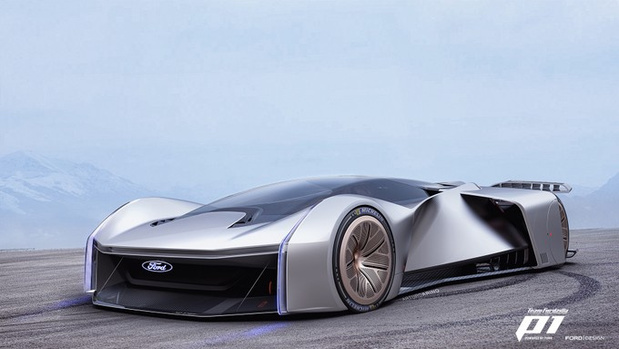 Ford P1 is virtuele racer