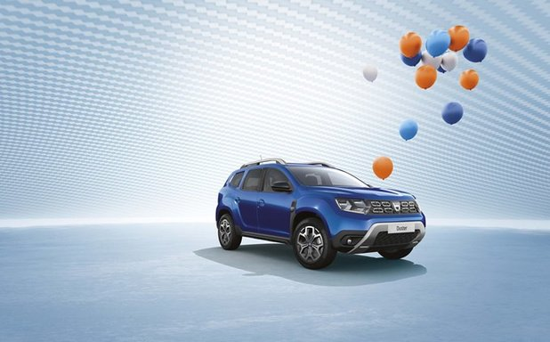 Verjaardagsedities bij Dacia