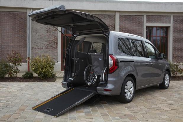 Un Kangoo pour les personnes à mobilité réduite