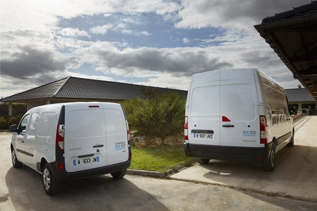 Renault lanceert bestelwagens op waterstof