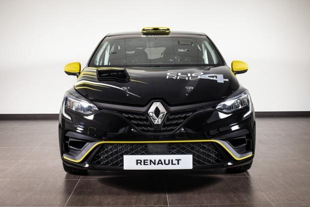 Renault Clio krijgt nieuwe rallyversie