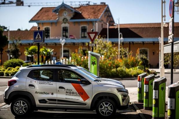 """Mobilize lance son premier service d'autopartage en France, sous le marque """"Mobilize Share"""""""