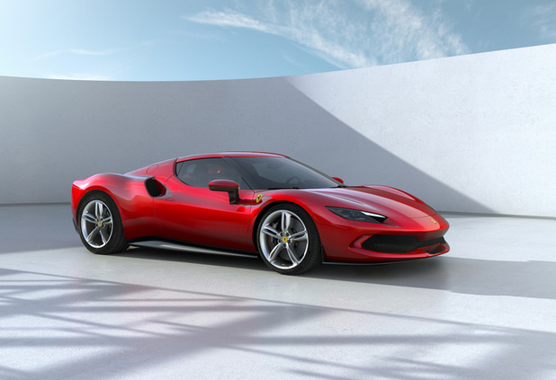 Ferrari 296 GTB is V6 plug-in hybride