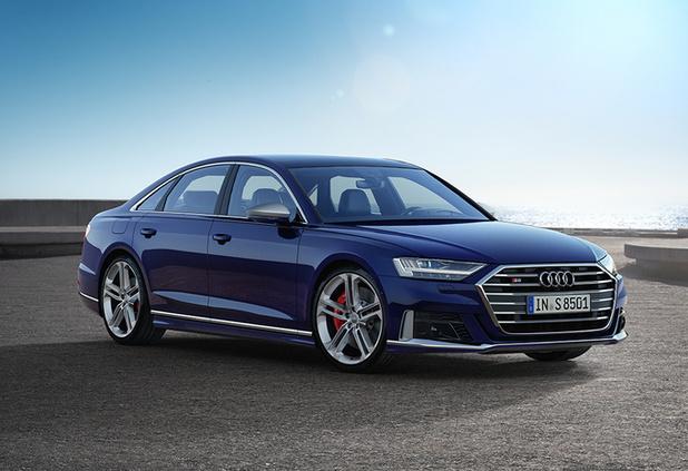 Hybridation légère pour la nouvelle Audi S8