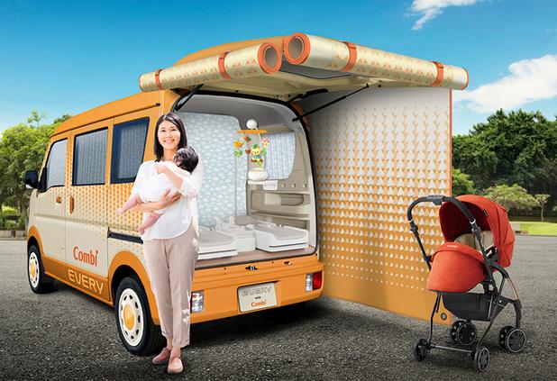 Suzuki Every Go Anywhere: pour bébé et ses parents