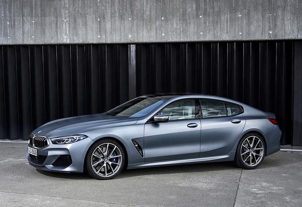 La BMW Série 8 Gran Coupé, 4 places de sport