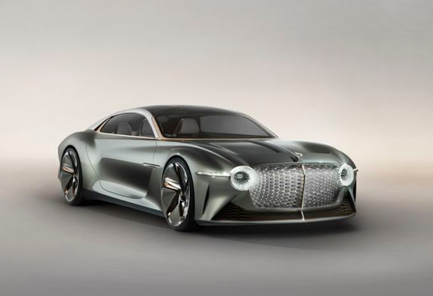 Bentley Exp 100 GT, électrique et intelligente