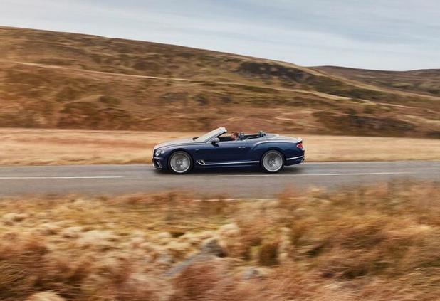 Exclusief en razendsnel cabrioplezier in deze Bentley