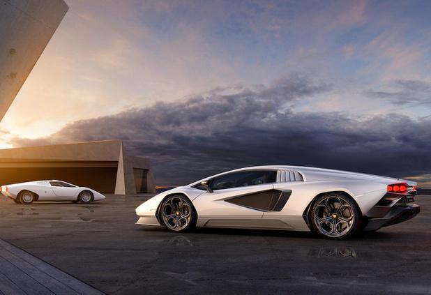 Lamborghini Countach maakt comeback