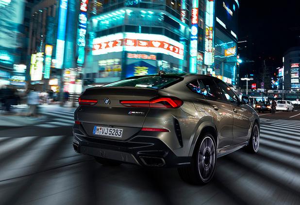 Jeu de lumière pour le nouveau BMW X6