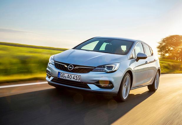 L'Opel Astra améliore son bilan énergétique