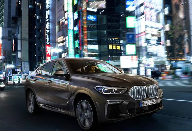 BMW lanceert derde generatie X6