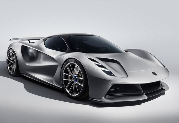 Lotus lance son hypercar électrique