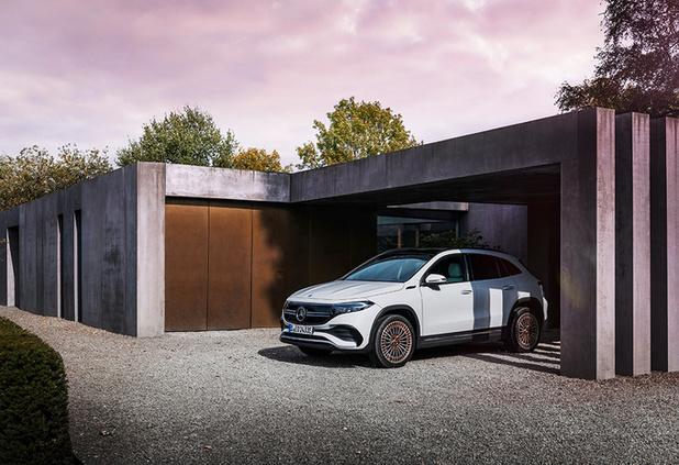 Mercedes lance l'EQA électrique