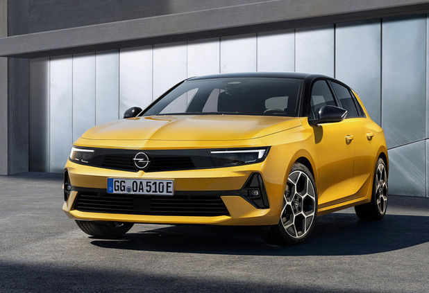 Opel Astra krijgt ook elektrische variant