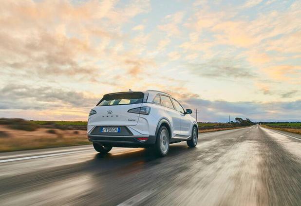 Hyundai Nexo legt 887 km af op één tank waterstof
