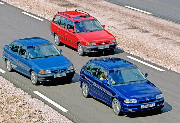 Opel viert 30 jaar Astra