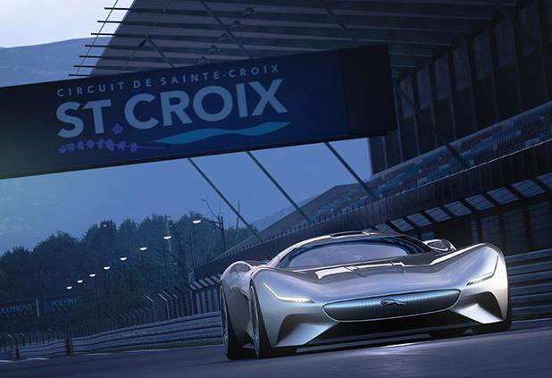 Jaguar dévoile une supercar futuriste