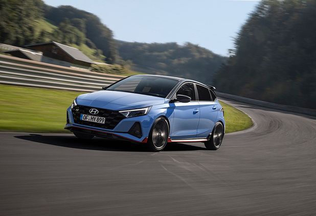 Hyundai i20 N, (presque) la même que Thierry Neuville