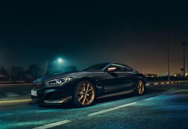 BMW présente la très exclusive Série 8 Golden Thunder Edition