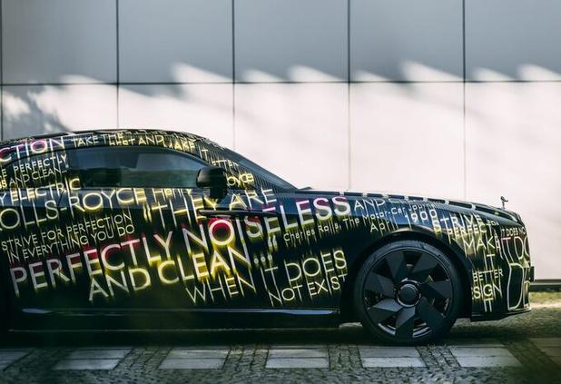 Rolls-Royce Spectre is 100 procent elektrisch