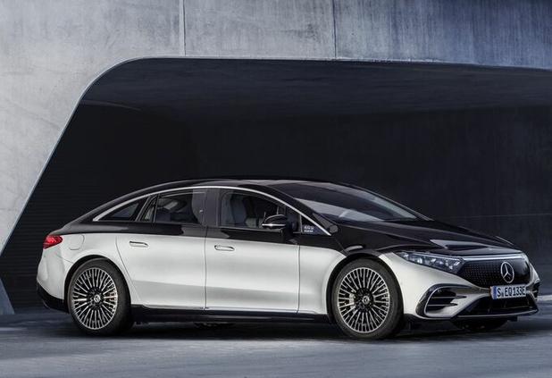 EQS: de elektrische limousine van Mercedes